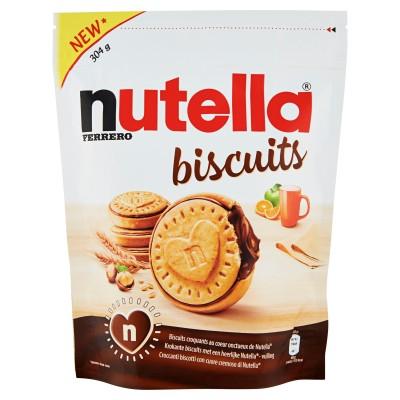 Nutella Biscuits, Keks mit einem cremigen Herzen von Nutella, Original