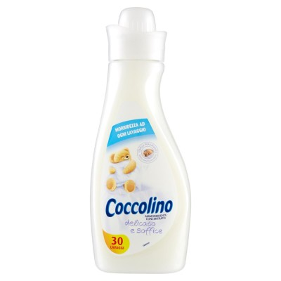 Coccolino, Ammorbidente Concentrato, Delicato E Soffice, 30 Lavaggi, Ml 750