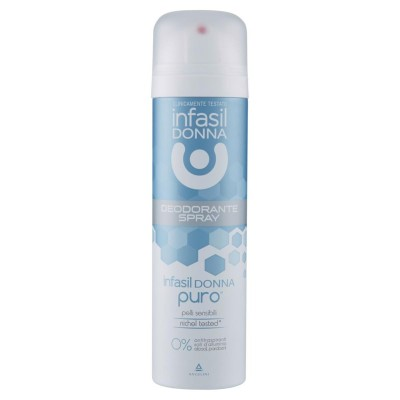 INFASIL  Infasil Deodorant Frau Puro Spray Für empfindliche Haut 150 Ml