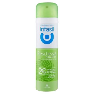 INFASIL  Infasil Deodorant Freschezza Dinamica Spray Mit antibakteriellen 150 Ml