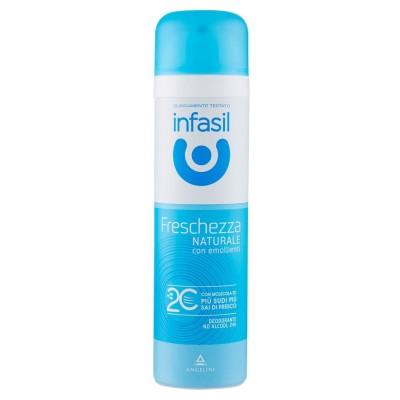 INFASIL  Infasil Freschezza Naturale Deodorant Spray Con Emollienti 150 Ml