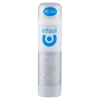 Infasil Neutro Tripla Protezione Deodorant Spray 150 Ml