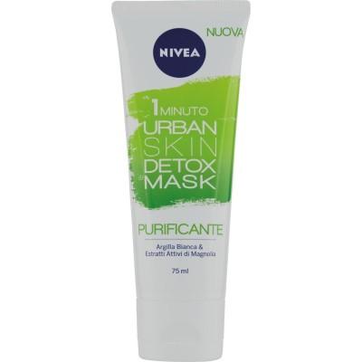 NIVEA 1 Minute Urban Skin Detox Mask Purifiant 75 ml