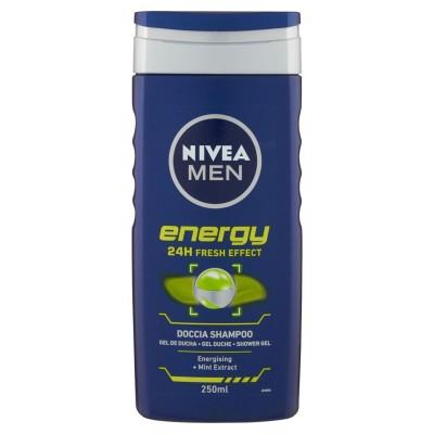 NIVEA MEN   Shampooing douche Energy 250ml