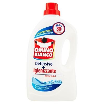 omino bianco detersivo lavatrice 30 lavaggi