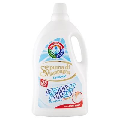 SPUMA DI SCIAMPAGNA, reine weiße Waschmaschine Waschmittel waschen 33