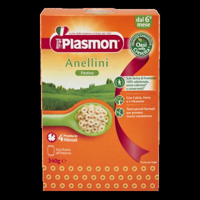 Pastina Anellini 340 gr Plasmon