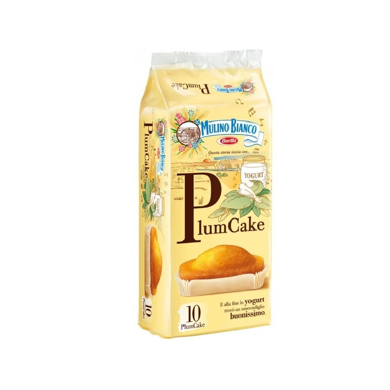 Plumcake Yogurt bianco 10 Stück Mulino Bianco
